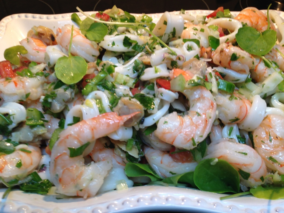 Cold Seafood Salad