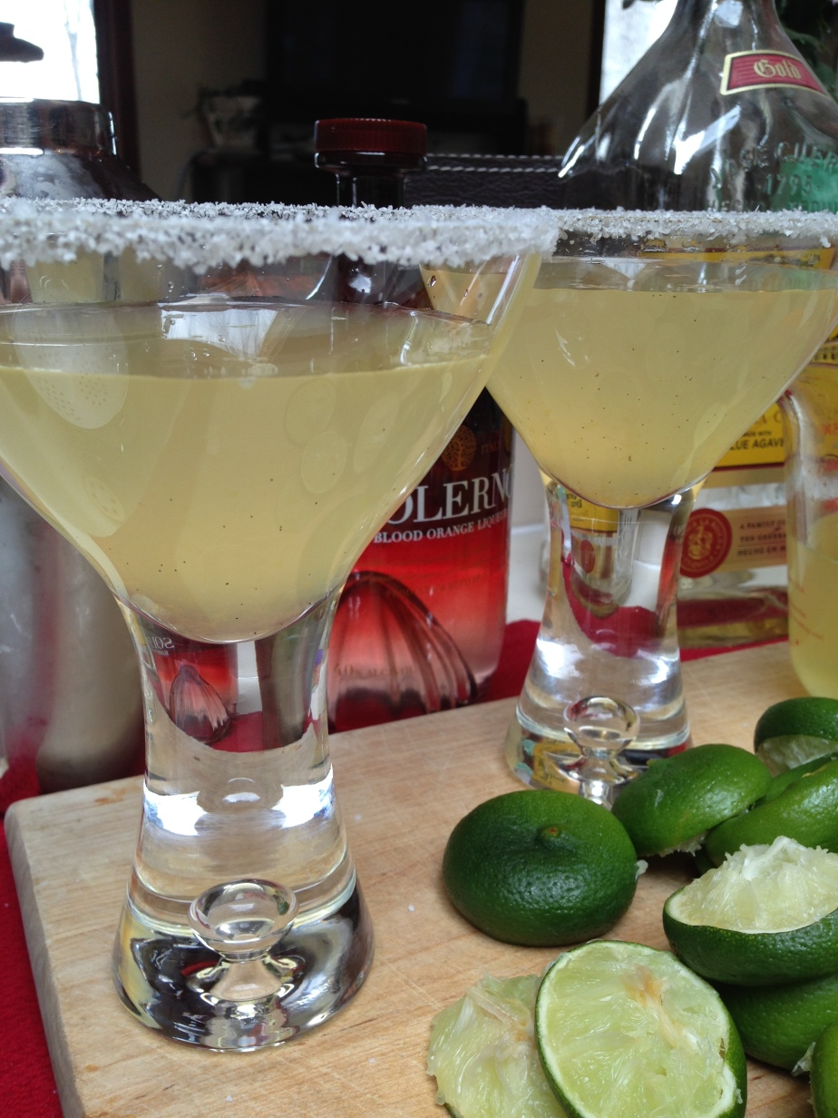 Margarita.  Heavenly, fresh, you-made-it-yourself Greatness.