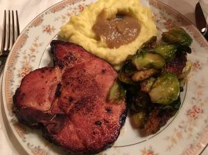Balsamic Rosemary Smoked Pork Chop